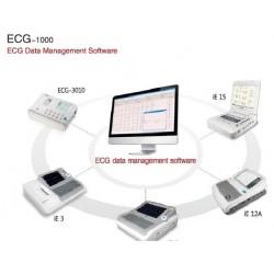 Logiciel d'électrocardiographie de gestion de données ECG-1000